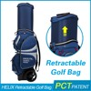 HELIX Customize Nylon genuine leather golf bag With High Quality