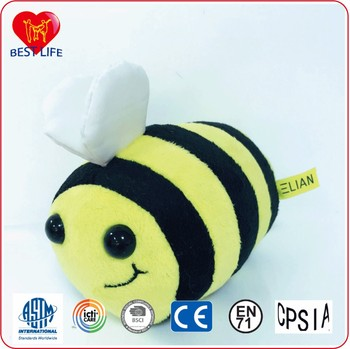 small honey bee plush toy stock animals play to play
