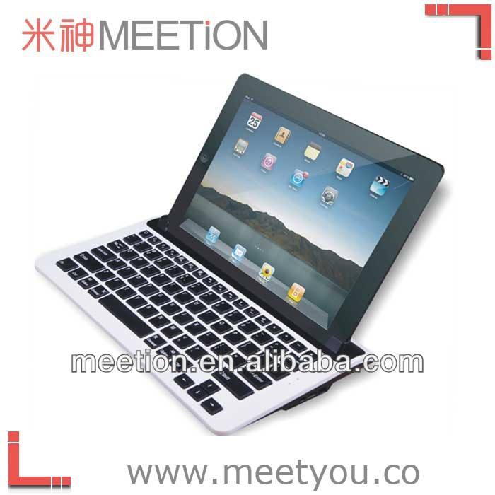 ergonomic rechargeable bluetooth keyboard with holder make the ipad like laptop