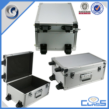 MLD-AC3029 Silver new excellent quality custom aluminum trolley flight case
