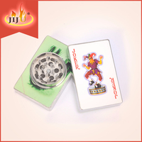 JL-067J Yiwu Jiju Novelty Smoking Accessories Chromium Crusher Herb Grinder