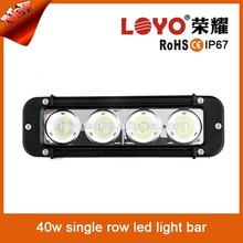 40w Single row indoor/out door/ straight off road led light bar