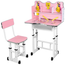 Child Cartoon school desk and chair with design customized