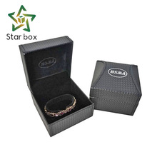 Travel jewelry case PU leather jewelry packing box for bangle bracelet jewellery packaging