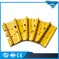 Single grouser bulldozer track shoe / track pad for K907, T90, T100 undercarriage parts with track shoe bolts and nuts