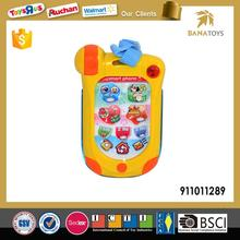 Baby Cartoon Mobile Phone Toy With Music And Light