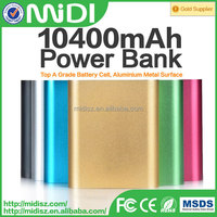 Best Sale High Quality power bank 10400mAh external battery pack for Universal Smartphone Tablet