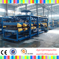 EPS Wall Cement Sandwich Panel Production Line For Roof Panel