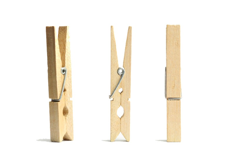 High quality custom small wooden clothes pins