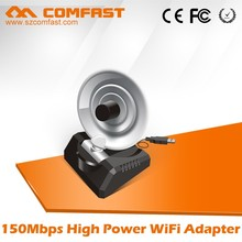 Dual antenna radar For COMFAST CF-WU770N 150Mbps 2.4Ghz 802.11n Wifi Lan Adapter/Network Card