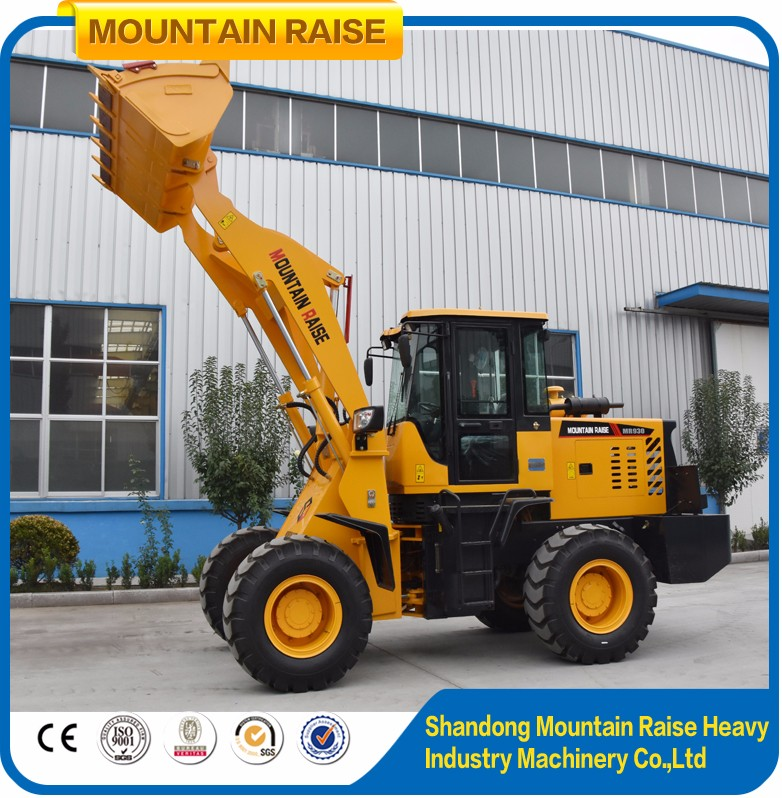 Micro Chinese Manufacturer zl20 Wheelloader in Loaders