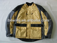 2013 The latest 600D nylon protective motorcycle jackets for men with armor
