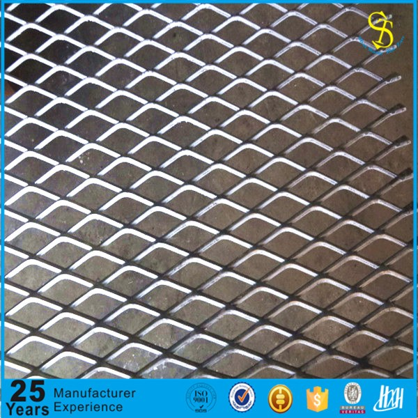 Trade assurance china small hole expanded metal mesh for curtain, Galvanized Expanded Metal Mesh
