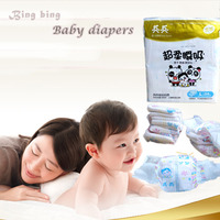 Adjustable CE Breathable Soft Dry and Comfortable Breathable PE Film SAP Sleepy Baby Diapers