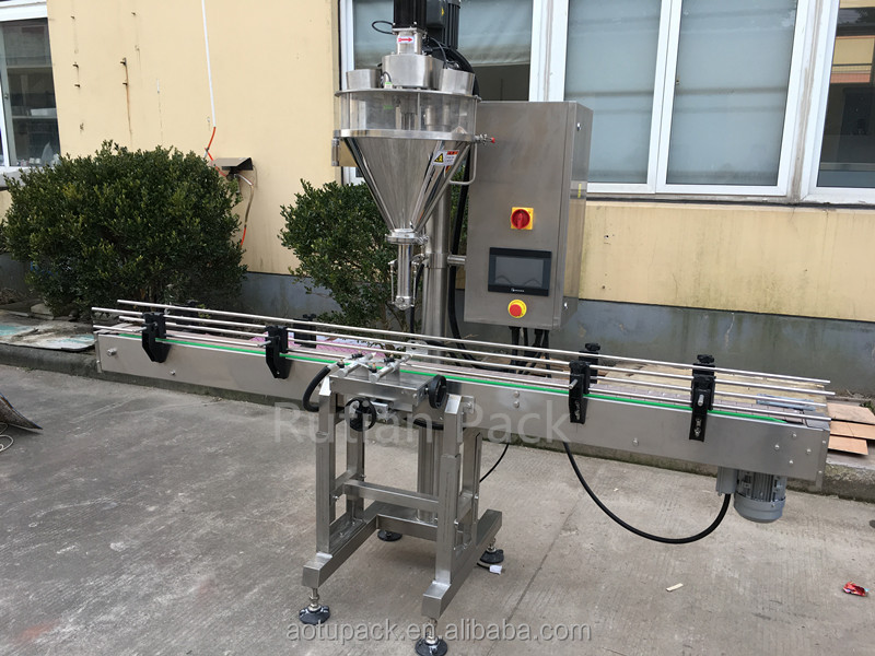 Instant coffee bottle packaging machine price