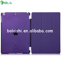 fashion design smart and flip cover leather case for ipad5 cases