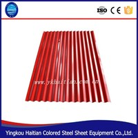 Color Steel Plate Material and Plain Roof Tiles Type types of roof tiles