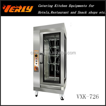 HOT SALE! Commercial Vertical Electric Rotary Rotisserie VXK-726