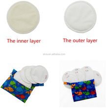 Antibacterial Bamboo Breast Pad Reusable Washable Cloth Nursing Pad Wholesale