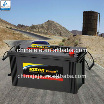 Maintenance Free battery N100MF 12V100AH