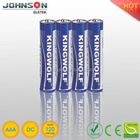 LR03 1.5v Super alkaline battery ,AAA battery ,dry battery