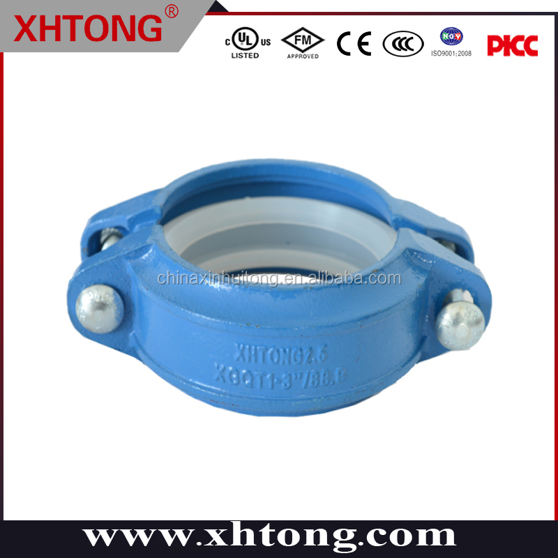 Fabulous various colors FM UL approval flexible coupling made in Shandong