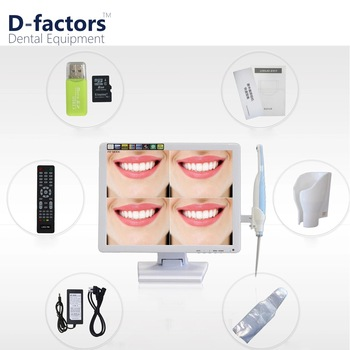 17 Inch Monitor Hot Sale Dental Intraoral Camera with Lcd Holder