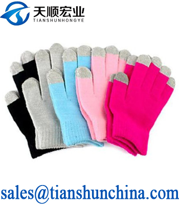 Acrylic Smart Phone Screen Touch Screen Gloves