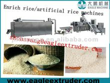 New style nutritional man made rice making line