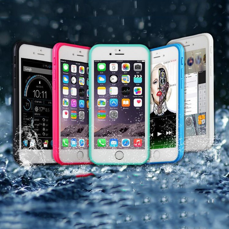 Cheap Phone Case Waterproof Colorful Soft pc tpu Case For iphone 6