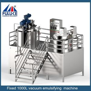 FLK high quality emulsifying mixer for cosmetics, homogenizing cosmetic cream making machine, cosmetic emulsifying equipment