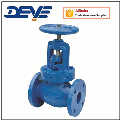 Cast Iron or Ductile Iron ANSI 125LB 150LB Globe Valve with Flange Ends