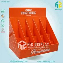 China POP UP 350gCCNB +B Flute Corrugated Cardboard Counter Display