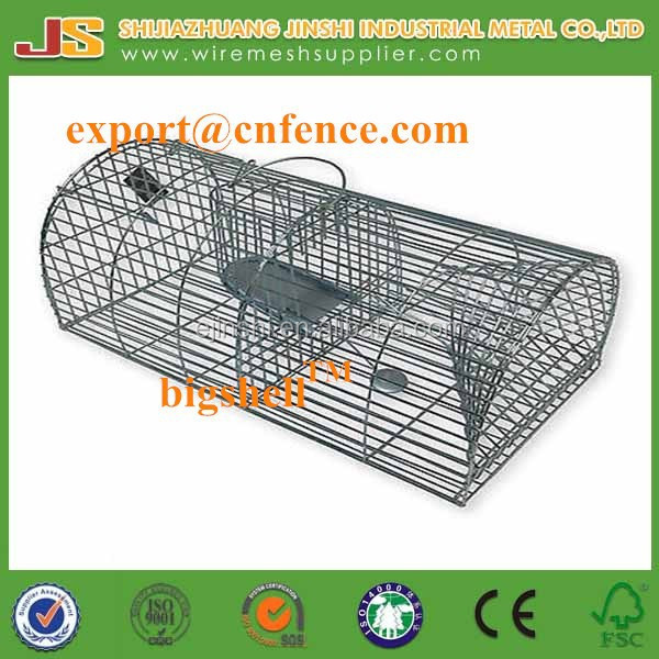 Use Large Rodent Metal Indoor & Out Humane Multi Live Catch Animal Rat Cage Trap
