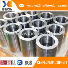high quality custom shaft protecting sleeve with large size forging technology