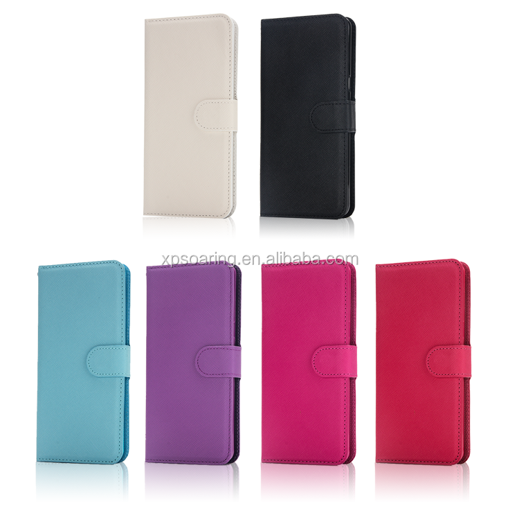 Cross-line wallet <strong>leather</strong> case for Samsung Galaxy Note 7 detachable design