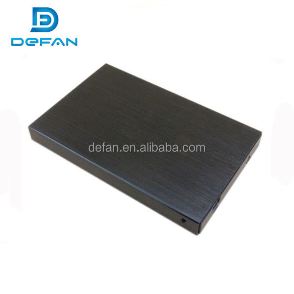 custom aluminum case 2.5 sata usb esata hdd external usb3.0 SSD hdd enclosure