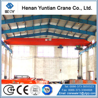 CE Certificate Light Duty Electric Hoist Single Beam Bridge Crane