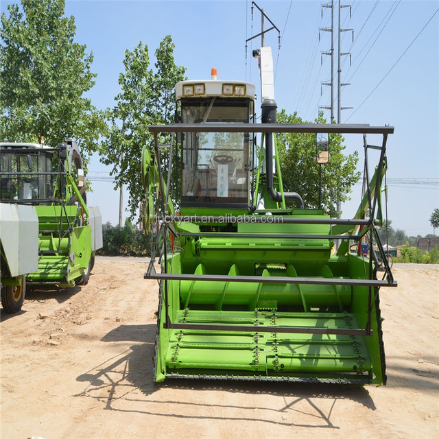 silage corn Combine Harvester uses of new agricultural machines corn silage harvester