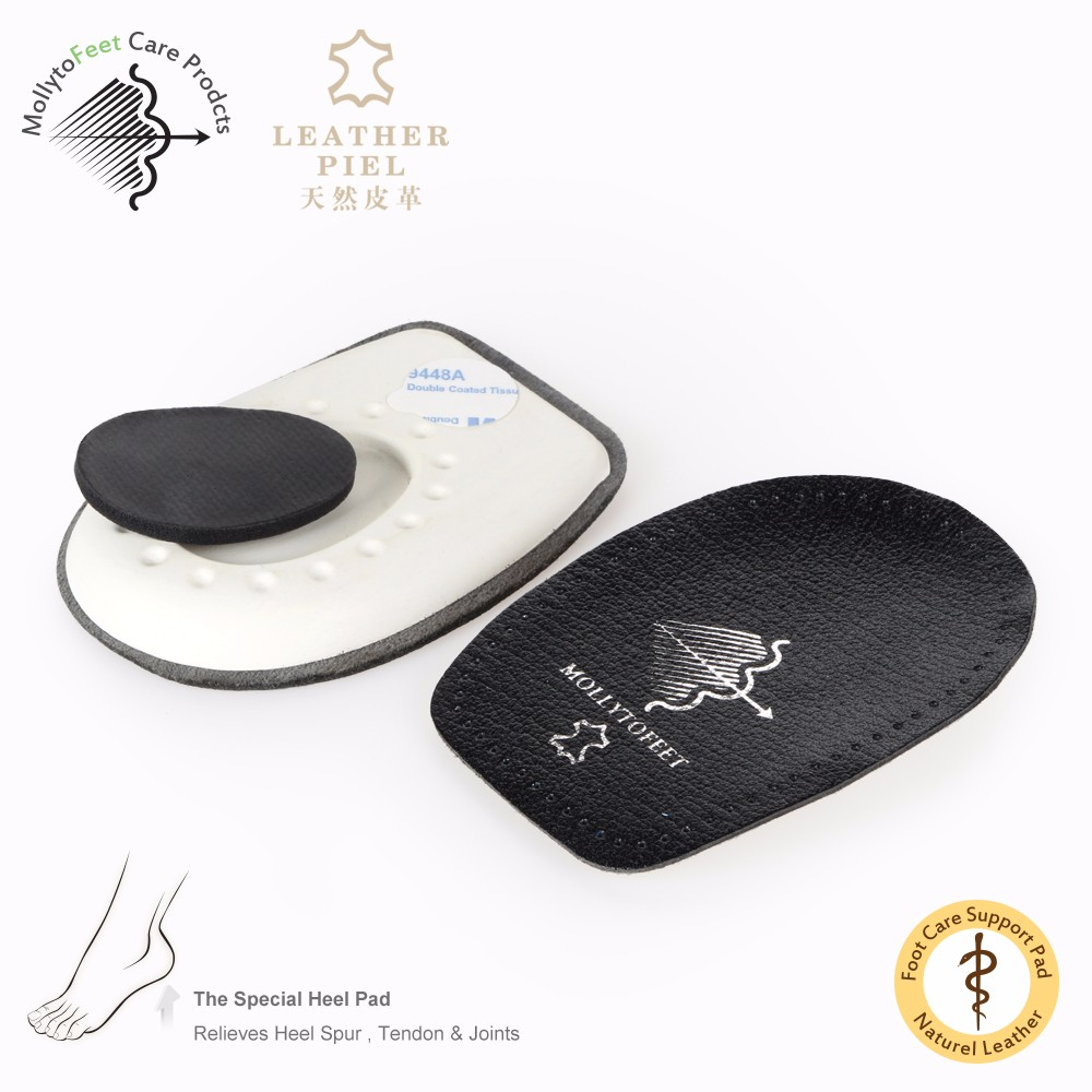 Leather Soft Heel cushion Comfort Shoes Pads latex corns insole Accessoriecorns insole