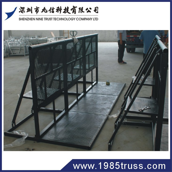 Plastic Crash Barrier Pedestrian Crowd Control Barriers