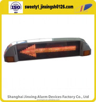 12V yellow police red warning screen,LED light for police car