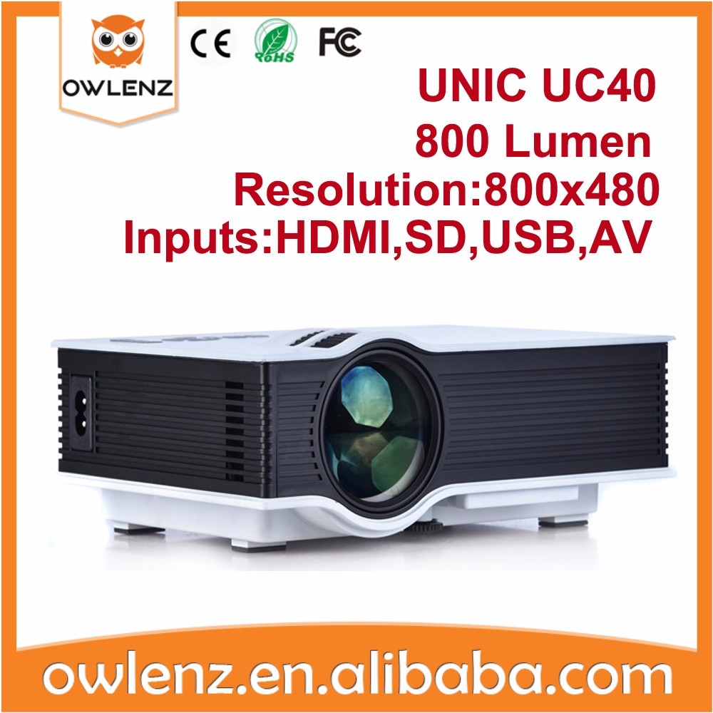 UNIC UC40 Projector multimedia led a project