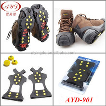 10 SPIKES traction cleats for walking on snow & ice good Crampons shoe covers
