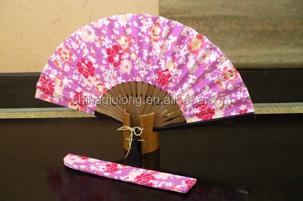 2016 Really cheap plastic fabric lace hand fan