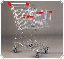 Asian Used Shopping Carts For Sale/Used Supermarket Equipment From YUAN DA Manufacture