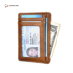2019 Fashion Genuine Leather Slim Smart Man RFID Wallet Coin Purse