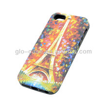 made in china newest design 2in1 combine case for iphone5s case