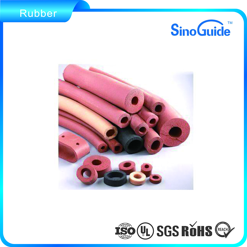 Customized Die Cut Silicone Closed Cell Foam Rubber Roll/Silicone Foam