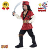 Lucida Carnival costume kid 881213 pirate top selling deluxe party costume supplier